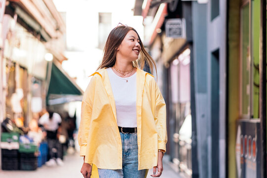 Cool Asian Woman in the City