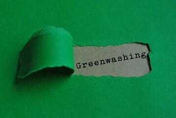 Obraz Greenwashing - fototapety do salonu