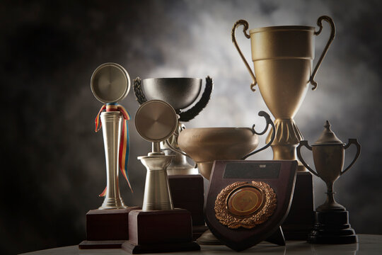 Group Of Trophy