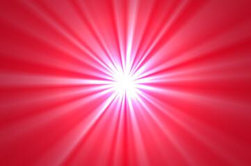 Obraz Ilustracja przedstawiająca rozbłysk światła na kolorowym tle. - fototapety do salonu
