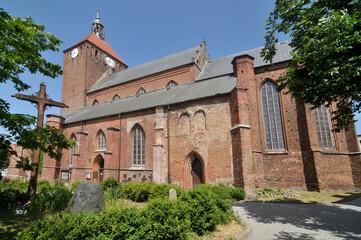Fototapeta Kościół Matki Bożej Częstochowskiej w Darłowie obraz