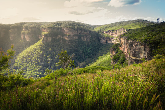 Sunny winters day in the Blue Mountains