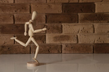 Obraz mannequin wooden - fototapety do salonu