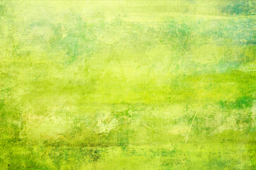 Obraz Abstract green painting background - fototapety do salonu