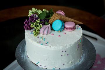 Obraz tort - fototapety do salonu