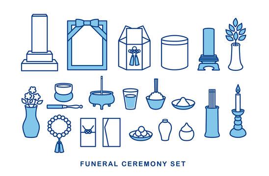 葬儀・葬式・仏具のセット