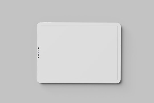 Tablet Pro Clay Mockup
