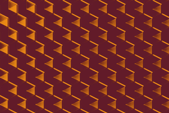 Abstract background with purple and yellow geometric patterns
