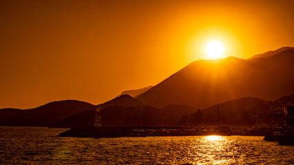Fototapeta Wakacje nad tureckim morzem obraz