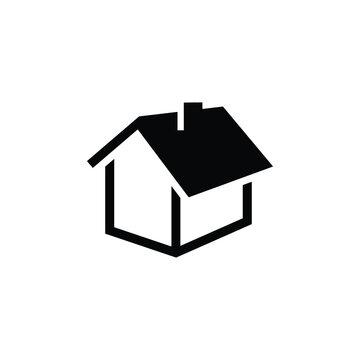 home icon design template vector