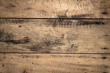 Fototapeta Drewniane brązowe tło, tekstura deski. obraz