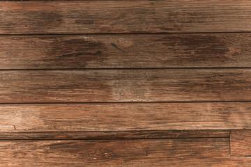Obraz Drewniane brązowe tło, tekstura desek. - fototapety do salonu