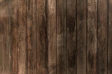 Fototapeta Drewniane brązowe tło, tekstura desek. obraz