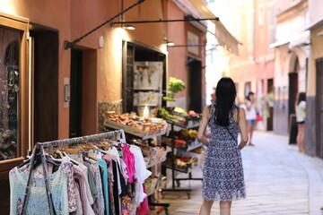 Fototapeta Klimatyczne włoskie uliczki  obraz