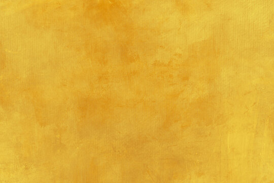 Yellow canvas painting background
