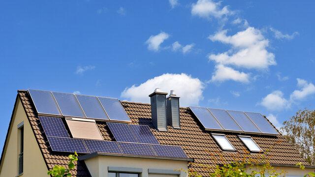 Photovoltaikanlagen auf dem Dach
