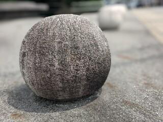 stone on the stone