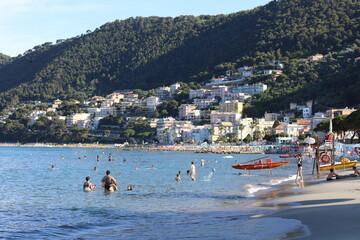 Fototapeta Wakacje na włoskiej plaży obraz