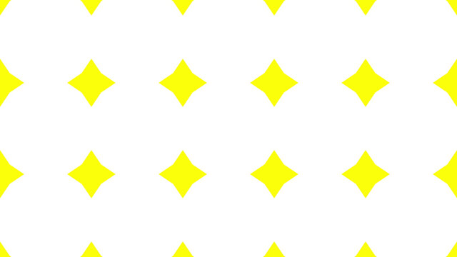 3D rendering of a seamless yellow diamonds on a white background