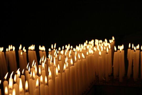 촛불 십자가