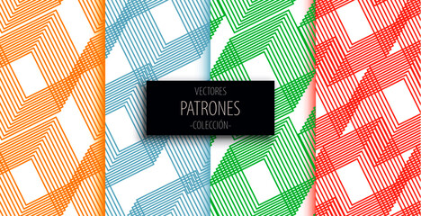 Obraz  textura geométrica abstracta - fototapety do salonu