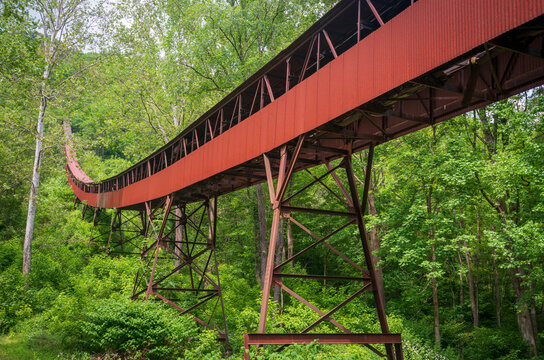 Historic Coal Mining Operation at New River Gorge National Park and Preserve