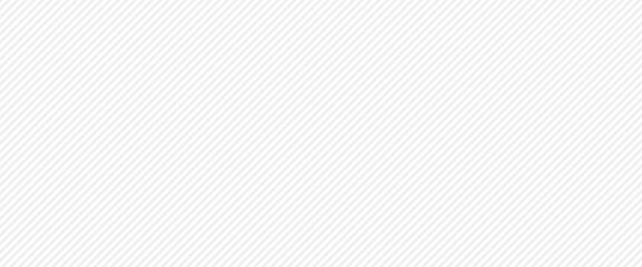 Fototapeta Gray and white diagonal stripes background. Design for web banner, cover template obraz