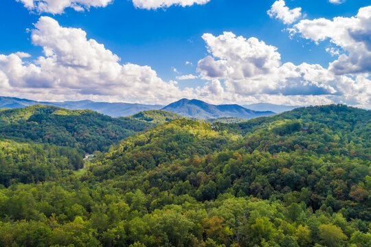 TN Smoky Mountains in summer
