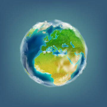 Planet Earth, 3d