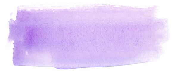 Obraz watercolor stain on paper light purple on white - fototapety do salonu