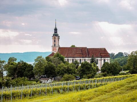 Das Zisterzienser-Priorat Kloster Birnau am Bodensee, Baden-Württemberg