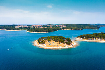 Istria, Croatia island Adriatic Sea blue water