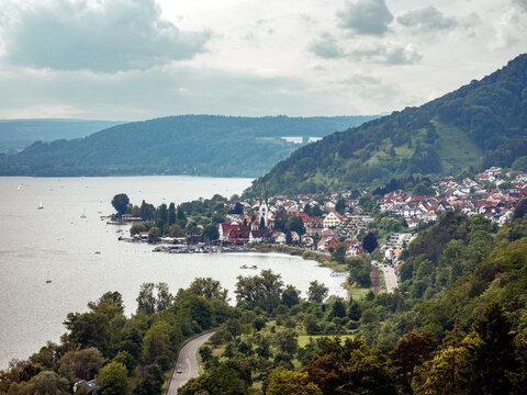 Blick auf den Bodensee, Baden-Württemberg