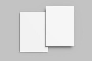 Obraz Flyer Mockup - fototapety do salonu