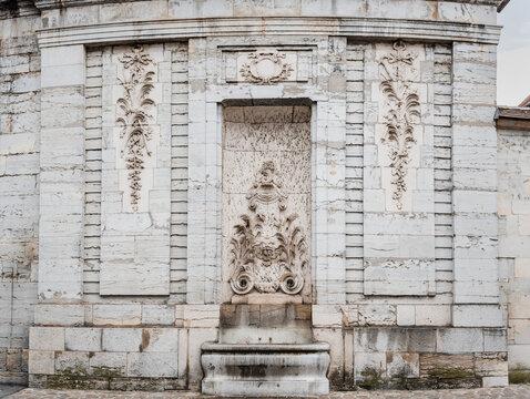Fontaine des Clarisses, Besançon, France