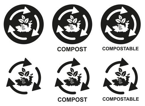 picto compost recyclage planche 2