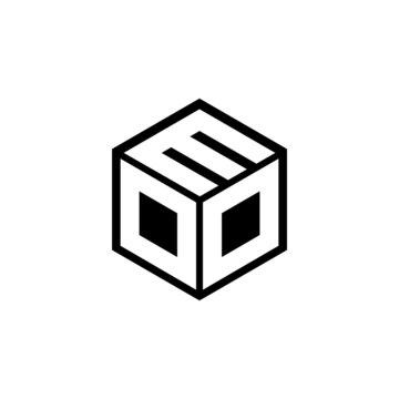 DDM letter logo design with white background in illustrator, vector logo modern alphabet font overlap style. calligraphy designs for logo, Poster, Invitation, etc.