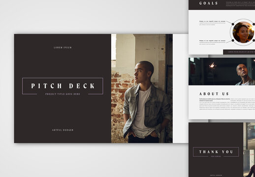 Simple Pitch Deck