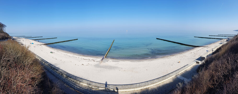Baltic resort (Ostseebad) Nienhagen in the state of Mecklenburg Western Pomerania (Mecklenburg Vorpommern) Germany