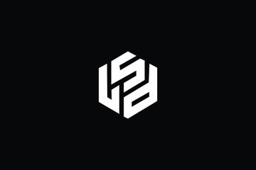Fototapeta LSD Letter Logo Design. Creative Modern L S D Letters icon vector Illustration. obraz