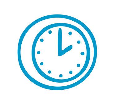 Uhr als Symbol und Icon