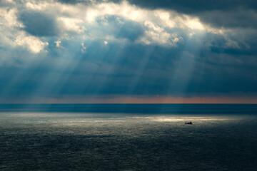 Obraz rays of light - fototapety do salonu