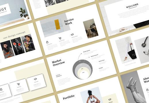 Brand Strategy Presentation Layout