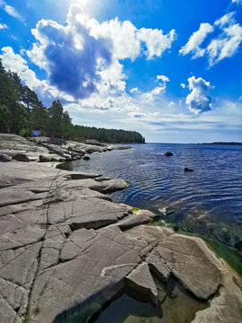 Landscape in Karelia