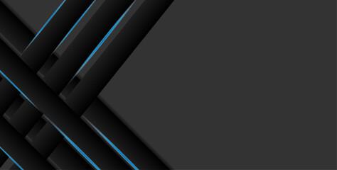 Obraz abstract 3d black background - fototapety do salonu