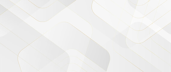 Obraz Luxury abstract Banner background vector. Modern geometric shapes an d gold line art wallpaper design for website, prints, cover, backdrop, Wall art and wall decoration.  - fototapety do salonu