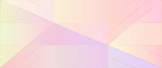 Fototapeta Luxury abstract Banner background vector. Modern geometric shapes an d gold line art wallpaper design for website, prints, cover, backdrop, Wall art and wall decoration.  obraz