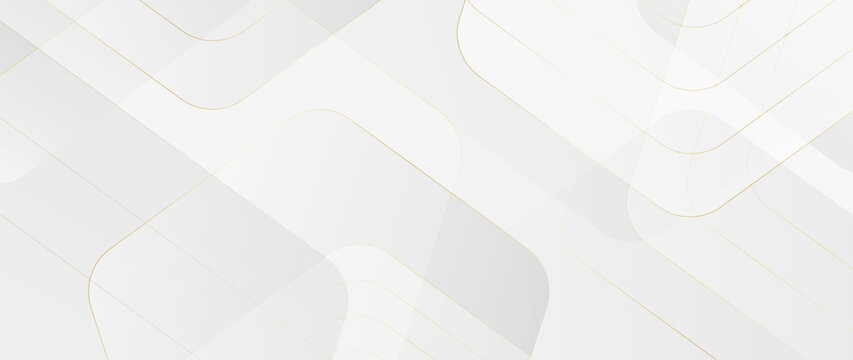 Luxury abstract Banner background vector. Modern geometric shapes an d gold line art wallpaper design for website, prints, cover, backdrop, Wall art and wall decoration.