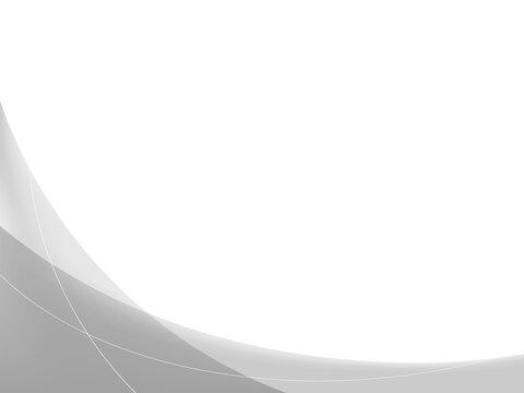 灰色の波の背景