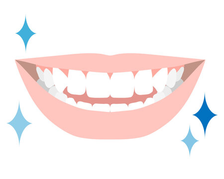 白い綺麗な歯